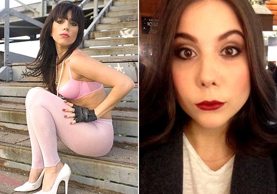Bal oldalon Lady Gaga látható a régi külsejével, a jobb oldali kép pedig Natalit ábrázolja: a hasonlóság döbbenetes.