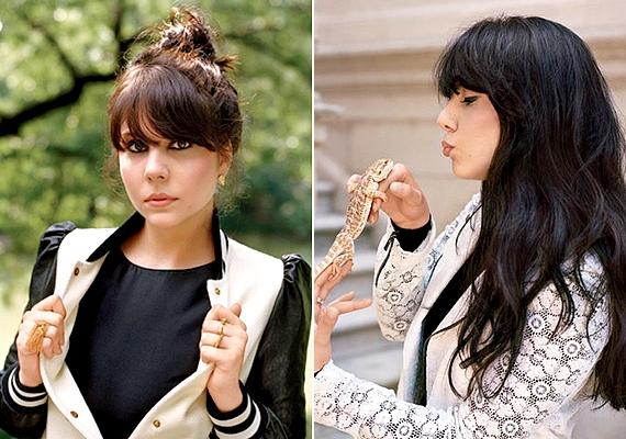 Natali divattervezőként dolgozik, és ugyanolyan egyedi stílusa van, mint nővérének - ez a Teen Vogue számára készült képeken is jól látszik.