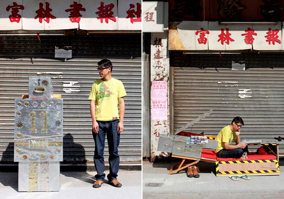 Ezt az összeszerelhető kis robotot Kacey Wong tervezte, illetve nevezte el Tin Man No. 11-nek. Gyakorlatilag egy kihajtogatható, mobil ágyat tervezett a fiatal fiú.