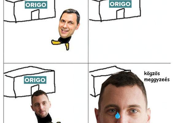Az Origo Zrt. Sáling kirúgása óta cáfolja, hogy a kormány felől bármiféle nyomás nehezedett volna a lapra, és szakmai indokokat hoz fel a váltás mellett. Közben az Origo szerkesztőségének szinte az egésze felmondott már.