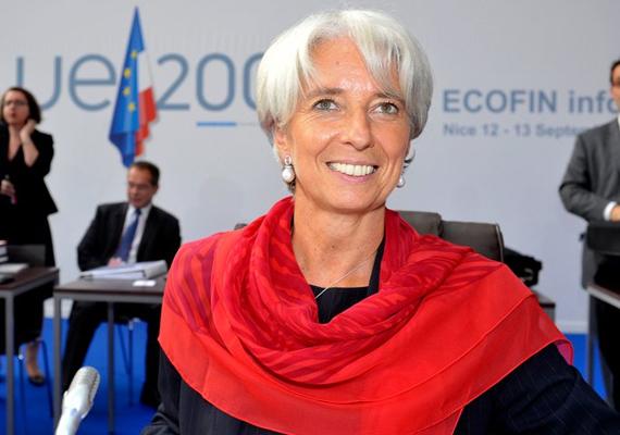 Christine Lagarde nagymértékben hozzájárult a gyenge globális gazdaság stabilizálásához. A francia származású Lagarde az Amerikai Egyesült Államokban volt ügyvéd, majd francia pénzügyminiszter lett.