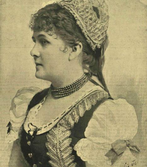 Blaha Lujza (1850-1926)                         Az énekes színésznő a nemzet csalogányaként tett szert hatalmas népszerűségre és halhatatlanságra. Nem csupán gyönyörű nő volt, de irodalmi körökben is elismert művésszé vált, többek között Adyt is megihlette.