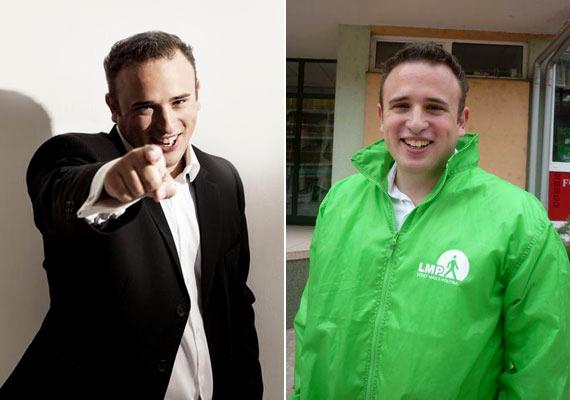 Dorosz Dávid a mezőny egyetlen LMP-s képviselője, 1985-ben született.
