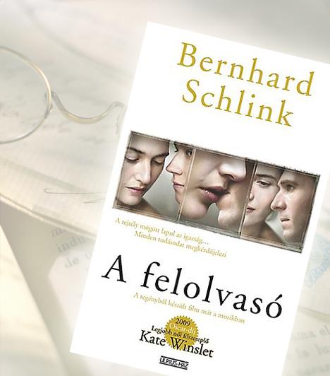 Bernhard Schlink: A felolvasóA kamasz Michael Berg hosszú betegségből lábadozik, amikor megismerkedik a nála húsz évvel idősebb Hannával. Szenvedélyes szerelem szövődik a fiúcska és a nő között. Évekkel később Michael megdöbbentő részleteket tud meg Hanna múltjáról, és kénytelen szembenézni a náci kegyetlenségekkel egy új generáció szemével.