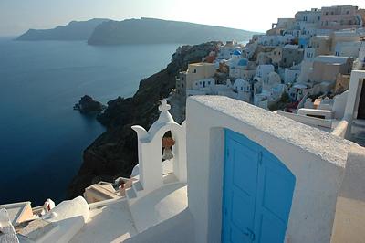 Oia, Santorini egyik legszebb városa