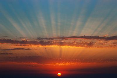 Görögország legszebb naplementéje Oia-n