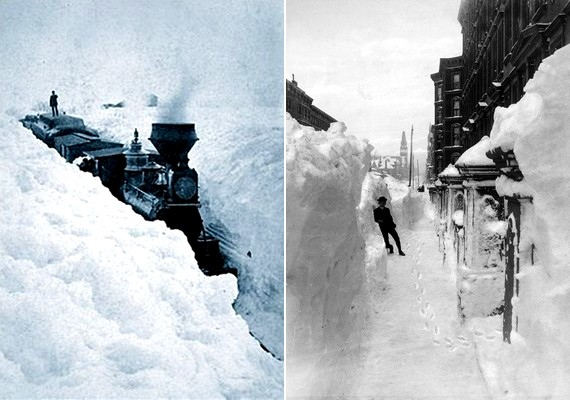 Ugyanezen év márciusában közel másfél méteres hó esett New Yorkban, hatalmas széllel és árvízzel körítve. A nagy fehér hurrikánként emlegetett vihar 25 millió dolláros kárt okozott, és négyszáz emberéletet követelt.