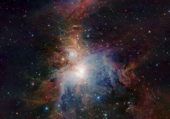 Az Orion nebula szíve.