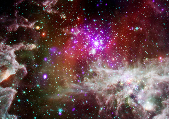 Az NGC 281-es csillagraj, 9 200 fényévre a Földtől.
