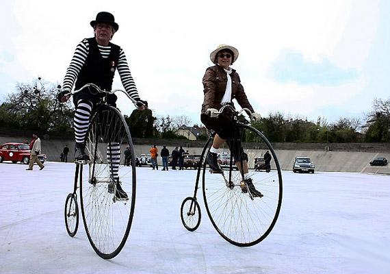Láttál már ekkora bringákat használat közben?