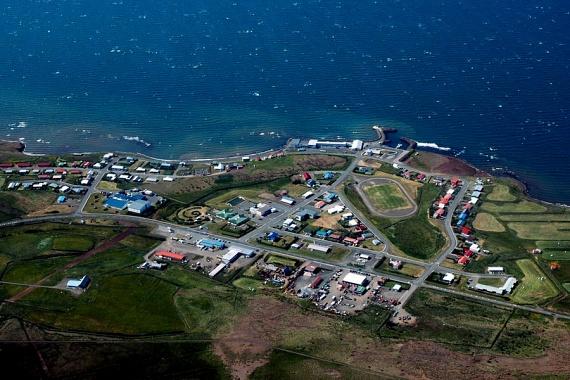 Íme, Búðardalur: a 270 lakost számláló településen nem volt lehetetlen feladat megtalálni a címzetteket, főleg a borítékon feltüntetett információk alapján.