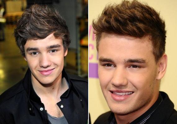 Később változtatott a stílusán, a haja egyre rövidebb lett.