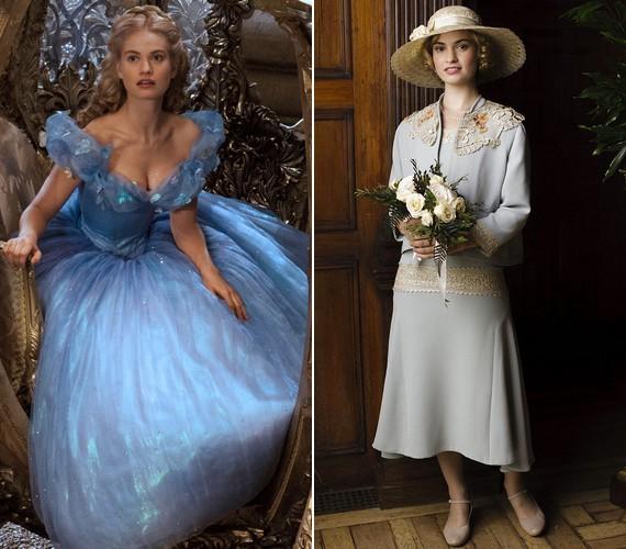 A visszafogott Lily James filmszerepei is illenek a karakteréhez, leghíresebb alakításai a Hamupipőke címszerepe és Lady Rose MacClare a Downton Abbey című sorozatban.