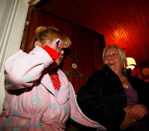 Az asszony rokkantnyugdíjas, 500 forintból élnek naponta.