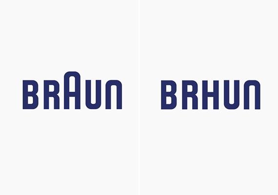 Leborotválták a Braun logót.