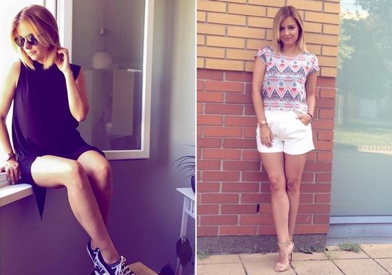 Tényleg nem mutatott sok újdonságot az új képekkel, hiszen nyáron rendszeresen posztolt olyan outfit-fotókat, ahol látható volt a lába.