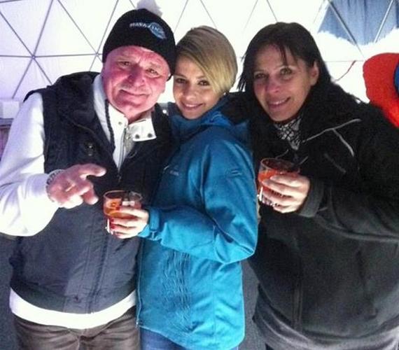 Az énekesnő és Nagy Feró remekül érezték magukat együtt, az utolsó előtti este pedig buliztak is egy kicsit.