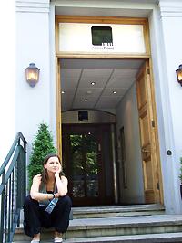 Az Abbey Road stúdió előtt