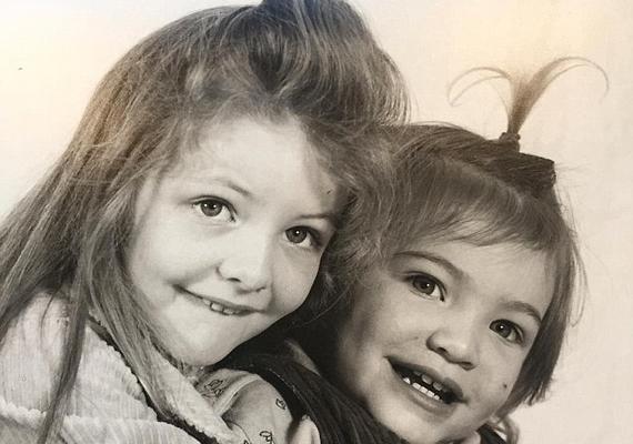 Sonja Yelich egy másik régi képet is feltöltött az Instagramra: ezen a fotón Lorde és nővére, Jerry láthatók.