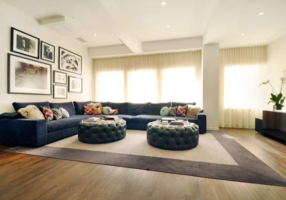 A lakást a kényelem és letisztultság jellemzi.