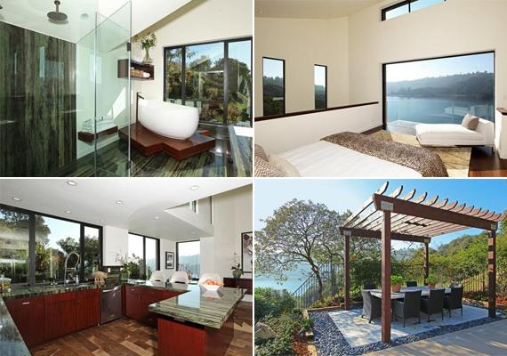 A színész és kedvese, Kristen Stewart egy-egy hosszú forgatási nap után ide tér haza. A ház maga a nyugalom szigete, ahová bármikor elvonulhatnak.