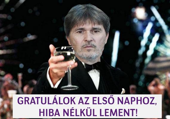 Szabó László Zsolt vezérigazgató mindenkinek gratulál. Remek nap volt.