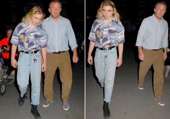 Így néz ki most a 14 éves Rocco: stílusa a nyolcvanas éveket idézi, a Daily Mail szerint pedig szőke hajával megtestesíti Madonna férfi változatát.