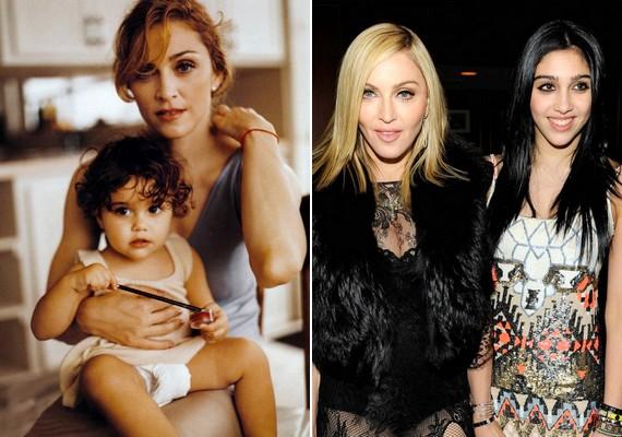 Ahogy idősödik, úgy változnak a vonásai is: most már jobban hasonlít édesanyjára, mint kiskorában.