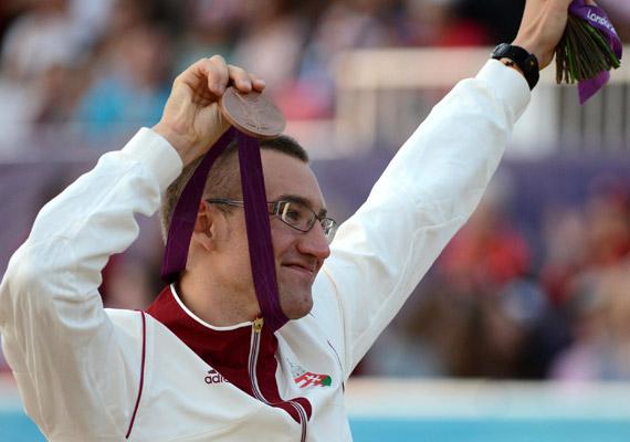 Marosi Ádám öttusában szerzett bronzérmet.