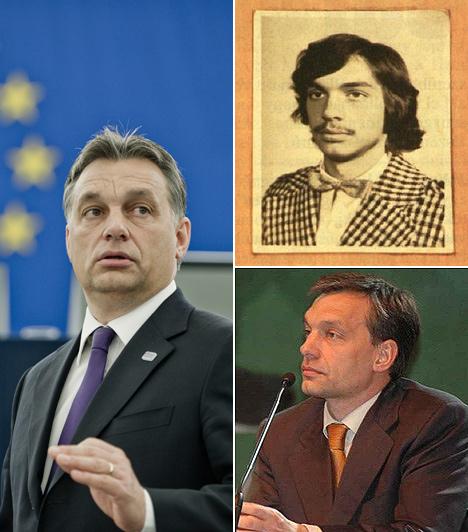 Orbán Viktor  Magyarország miniszterelnöke. Orbán Viktor másodszor tölti be a posztot. Az országot először 2002-2006 között vezette, majd nyolc évig ellenzéki szerepbe szorult. A 2010-es választásokat hatalmas fölénnyel nyerte meg, kétharmadot szerezve az országgyűlésben.  Azt senki nem erősítette meg, hogy a bajszos képen valóban ő látható-e, az alsó sarokban lévő viszont biztosan ő - 2006-ban.