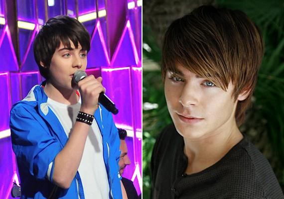 Az ének iskolája című műsorban fedezték fel az azóta csak magyar Zac Efronként emlegetett Venczli Alexet.
