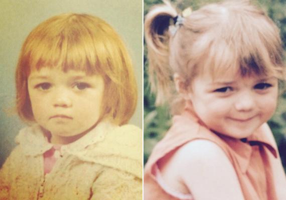 Maisie cuki fotói kislánykorából. Akkoriban még frufruja volt, és mint a legtöbb kicsi lány, ő is hordta copfban a haját. A fiatal színésznő 1997-ben született Bristolban.