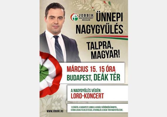 Ki mással is hirdethetné a Jobbik március 15-i programját, mint Vona Gáborral.