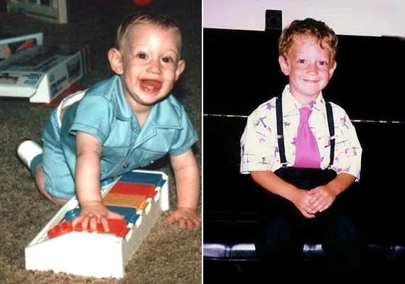 Tüneményes kisbaba volt, majd csibészes arcú kisfiú lett.