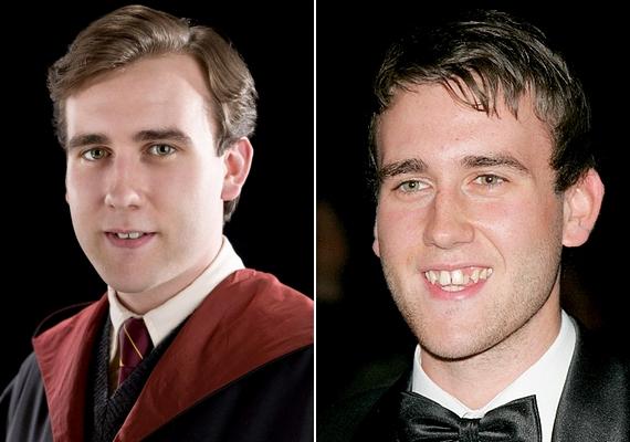 Íme, Matthew, mielőtt leadott volna néhány kilót, illetve átesett volna egy fogszabályzáson.