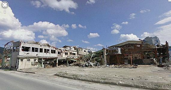 Onagawahama, illetve ami a katasztrófa után maradt belőle.