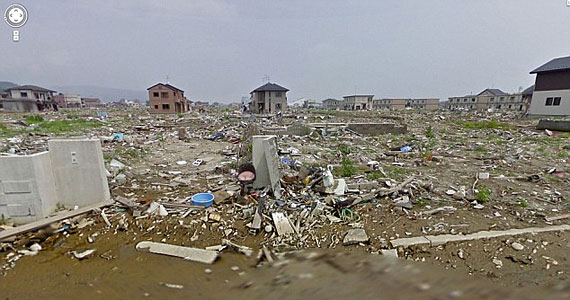A Street View-n 360 fokos panorámaképek is láthatóak.