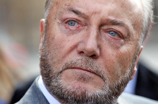 George Galloway brit politikust lesújtotta Margaret Thatcher halálhíre. A férfi nem szégyellte könnyeit.