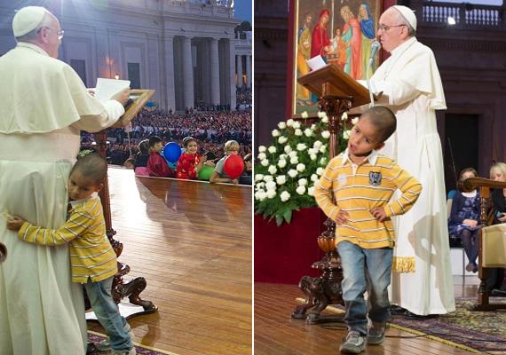 Sokak számára emlékezetes lehet a pillanat, amikor Ferenc pápa beszéde alatt egy kisfiú szaladt fel a pódiumra, és megölelte az egyházfőt. Bár a Vatikán emberei azonnal el akarták távolítani a fiút, a pápa nem hagyta ezt, viszonozta a kicsi ölelését, és ott folytatta a beszédet, ahol abbahagyta.