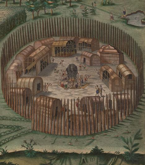 Az elveszett kolónia  1587-ben az angolok első alkalommal hoztak létre önálló kolóniát az Újvilágban, egészen pontosan a Roanoke-sziget északi részén. A gyarmatra 116 telepes, köztük 17 nő és kilenc gyerek érkezett. A kivándorlóktól még érkezett néhány levél, 1590-ben azonban az utánpótlást küldő hajó azonban egyetlen lelket sem talált közülük a szigeten - hogy hová tüntek a telepesek, az máig az amerikai kontinens egyik legnagyobb rejtélye.