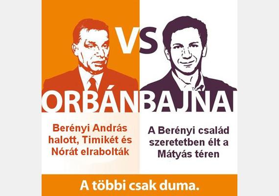 Az érem két oldala. Az Együtt 2014 idei kampányában a baloldal mindig a jobbik oldalát hangsúlyozta.