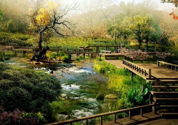 Szépséges kert.Kattints ide a nagyobb felbontású képért! »