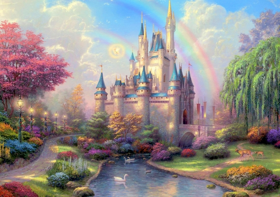 Hamupipőke csodás palotája.Kattints ide a nagyobb felbontású képért! »