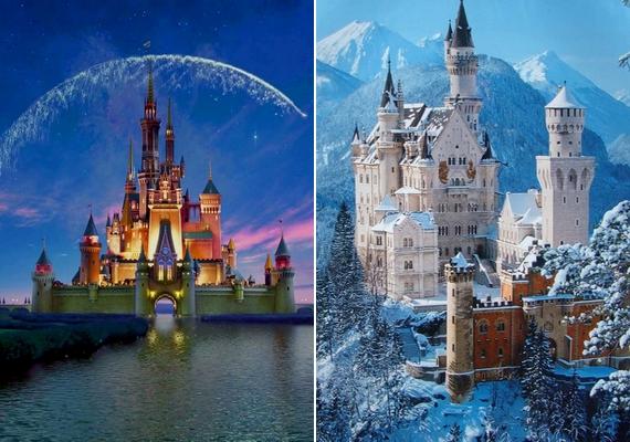 A Disney logóját, vagyis a kastélyt, amely a mesék elején feltűnik, a németországi Schwangauban található neuschwansteini kastélyról mintázták.