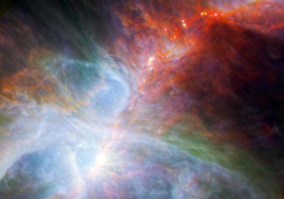 Szivárvány az Orionon.