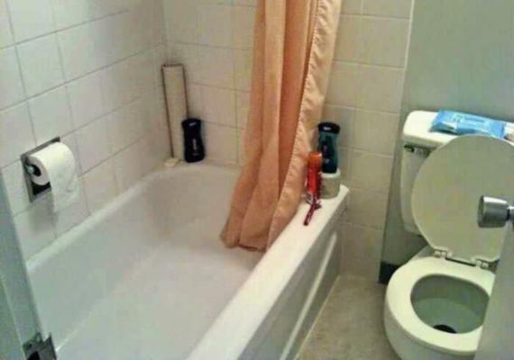 3. Minden rendben van ezzel a fürdőszobával?