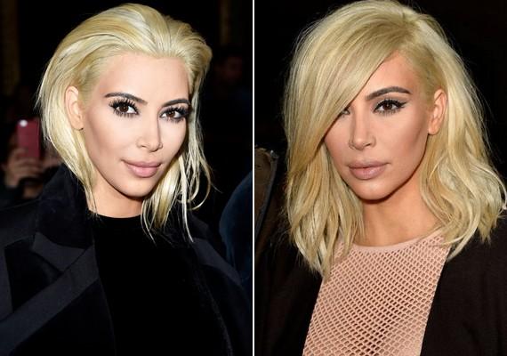 Kim új frizurája még tényleg furcsa egy kicsit, a természetestől pedig messze áll.