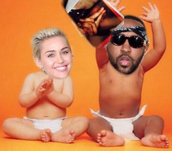 Miley korábban többször is dolgozott Mike Will Made It-tel, aki szintén nem úszta meg az énekesnő hóbortját.