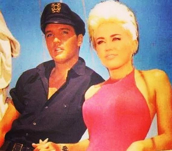 Eddig sem volt titok, hogy Elvis Presley az énekesnő nagy kedvence, de ez után a kép után kétség sem fér hozzá.