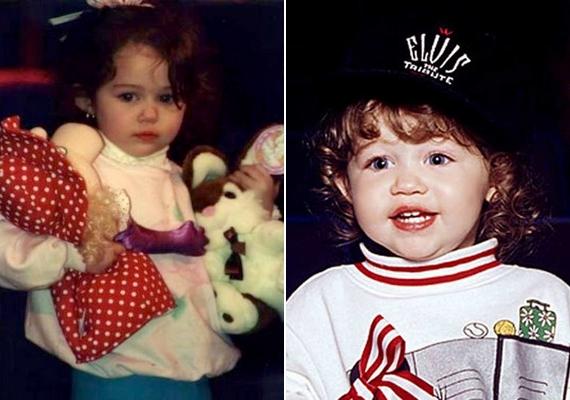 Már kislányként is megmutatkoztak jellegzetes vonásai és különleges szépsége.